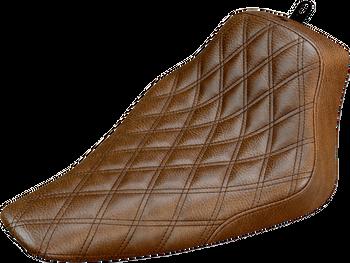 Saddlemen - Renegade Diamond Stitched Seat - Black or Brown fits '12-'17 FLS Models