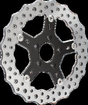 """Arlen Ness - Jagged 11.8"""" Brake Rotor - fits Harley Models (See Desc.)"""