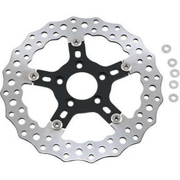 "Arlen Ness - Jagged Floating 11.8"" Front/Rear Brake Rotor"