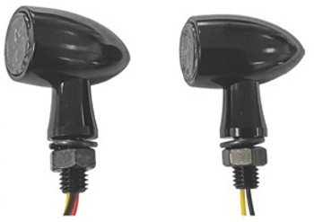 HardDrive - Mini LED Turn Signals - Black