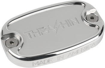 Thrashin Supply Rear Brake Reservoir Cap fits Harley Dyna, Softail, and Touring Models