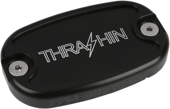 Thrashin Supply Co. - Dished Rear Brake Reservoir - fits Harley Dyna, Softail, and Touring Models