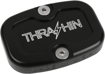Thrashin Supply Co. - Rear Brake Reservoir Cap - fits '08 and Up Harley Touring Models