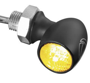 Kuryakyn - Bullet Atto Marker Lights by Kellermann - Black (Sold Each)
