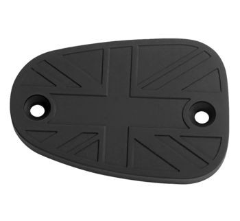 Motone Customs - Union Jack Billet Master Cylinder Cap - fits all Hinckley Triumphs
