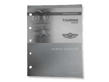 Harley Davidson 2003 Touring Big Twin Parts Book