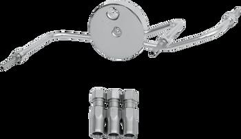 Magnum - BYO Universal Brake Lines - Chrome Brake Tee - fits Harley Models