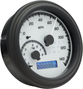 Dakota Digital - MVX Series Fatbob Analog/Digital Gauge Series Systems - fits Harley Models - Choose Color