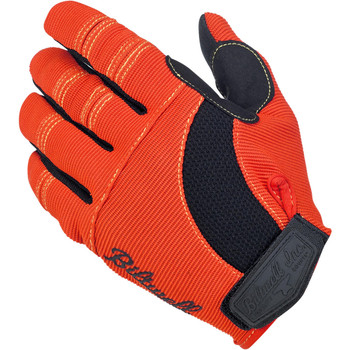 Biltwell Inc. - Moto Gloves - Orange/Black/Yellow