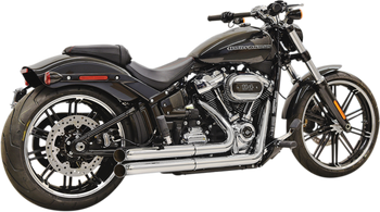 Bassani - Pro Street 2-Into-2 Exhaust System - fits '18 Harley Softail - Chrome or Black