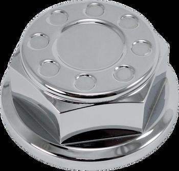 Joker Machine - Steering Stem Nut - fits Harley Models - Black or Chrome
