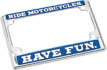 Biltwell Inc. - License Plate Frames - Choose Style