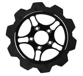 """Lyndall Brakes - Front 11.5"""" Racing Rotors - Fits Dyna, Sportster, Softail, Touring (see desc.)"""