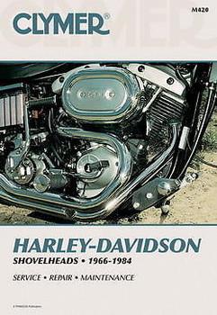 Clymer - Harley Davidson Shovelhead Service Manual 1966-1984