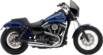 Cobra - El Diablo 2-into-1 Exhaust - fits Harley Dyna Models '06 - '11
