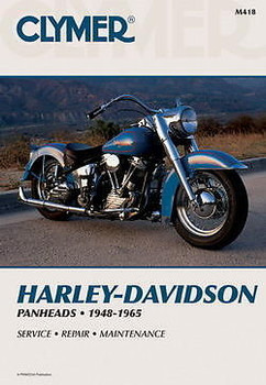 Clymer - Harley Davidson Panhead Service Manual 1948 - 1965