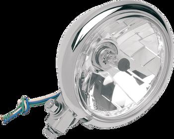 "Drag Specialties - Diamond-Style Bottom-Mount 5 3/4"" Headlight Assemblies for Springer"