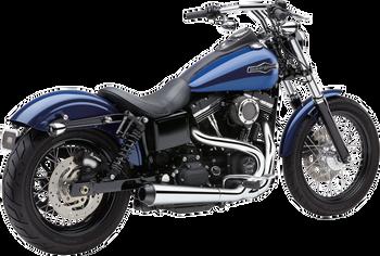 Cobra - El Diablo 2-into-1 Exhaust - fits Harley Dyna Models '12 - '17