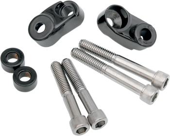 Drag Specialties - Short Turn Signal Mounts For 39MM/49MM Forks