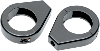 Drag Specialties - Turn Signal Fork Clamps
