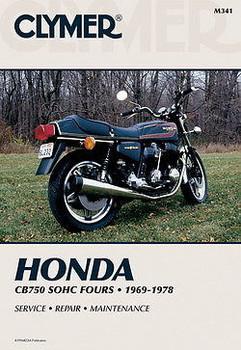 Clymer - Honda CB750 SOHC Service Manual - CB750K 1969-1978, CB750A 1976-1978, CB750F 1975-1978