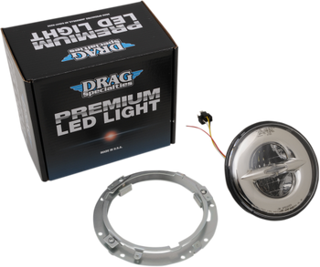 "Drag Specialties - Premium 7"" Reflector Style LED Head Lamp"