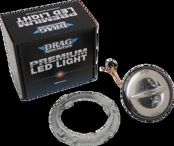 "Drag Specialties - Premium 7"" Reflector Style LED Head Lamp"