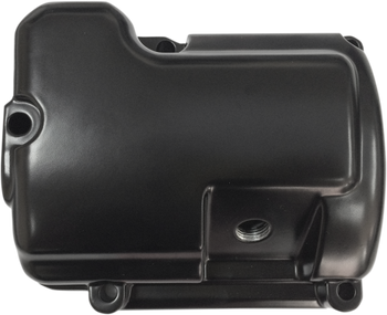 Drag Specialties - Flat Black Twin Cam Transmission Top Cover (See Desc.)