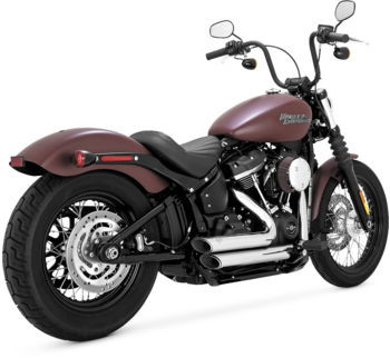 Vance & Hines Shortshots Staggered  Exhaust System - fits '18 Softail