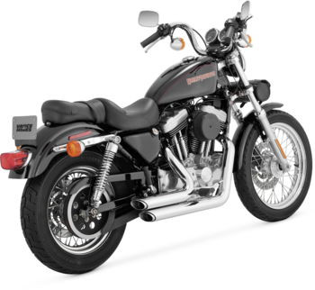 Vance & Hines - Shortshots Staggered  Exhaust System - fits XL Models