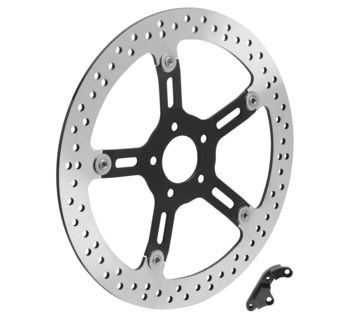 """Arlen Ness - Big Brake Floating Front Rotor Kit 14"""" - Fits FLT Models"""