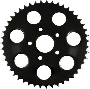 Drag Specialties Black Rear Sprocket For 530 Chain - Early (locating ring 1.980) Timken Bearing