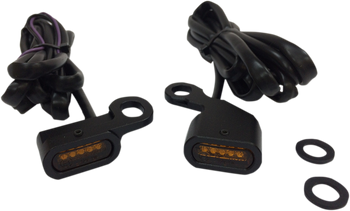 Drag Specialties - LED Handlebar Marker Lights