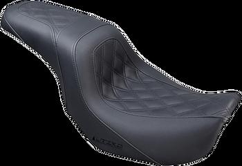 Saddlemen - Lutzka Signature Series Seat - fits '06-'17 FLD/FXD/FXDWG