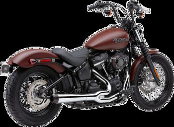 Cobra - El Diablo 2-into-1 Exhaust - fits '18 Softails