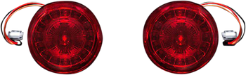 Custom Dynamics - Probeam Rear LED Turn Signal Inserts w/ Red Lens