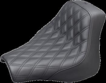 Saddlemen - Renegade Diamond Stitched Seat - fits Softails (see desc.)