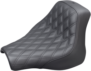 Saddlemen - Renegade Diamond Stitched Seat - fits Softails (see desc.)
