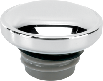 Drag Specialties - Chrome Screw-In Gas Cap - fits '99-'18 Big Twin, L96-'18 XL