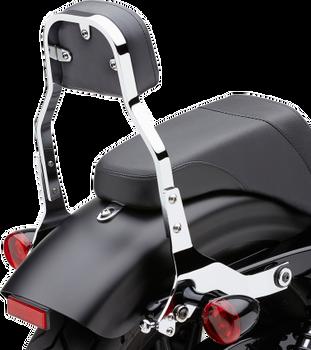 Cobra - Detachable Back Rest Kit - fits '00-'05 FXST/S/B, '00-'06 FLSTF, '00-'17 FLSTC, '07-'17 FLSTN, '00-'03 FLSTS