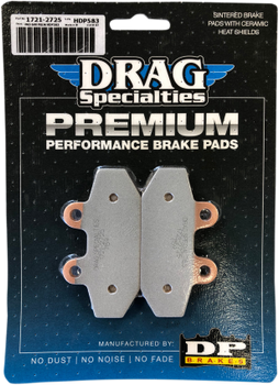 Drag Specialties - Premium Sintered Metal Brake Pads - fits '18 Softail