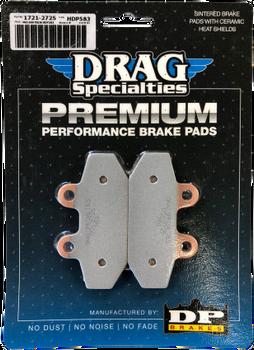 Drag Specialties - Premium Sintered Metal Brake Pads - fits '18 Softail