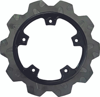 Lyndall Brakes - High Carbon Steel Crown-cut Perimeter Rotors - fits '14-Up Touring, '06-Up V-Rod Models