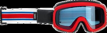 Biltwell Overland 2.0 Goggles -R/W/B