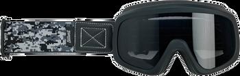 Biltwell Overland 2.0 Goggles - Black Camo
