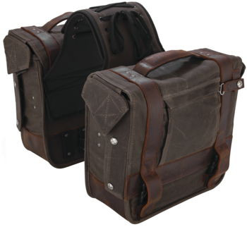 Burly Brand - Voyager Throw Over Saddlebags