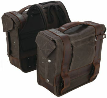 Burly Brand - Voyager Throw Over Saddlebags