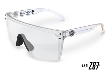 HeatWave Visual - Lazer Face Clear Safety Glasses