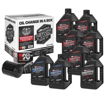 Maxima - Milwaukee-Eight Synthetic 20W-50 Oil Change Kit