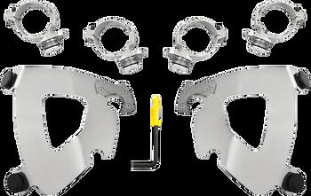 Memphis Shades Gauntlet Fairing Trigger Lock Mount Kit - fits 2018 FXLR